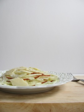 Fennel and Pear Salad || The Little Bite